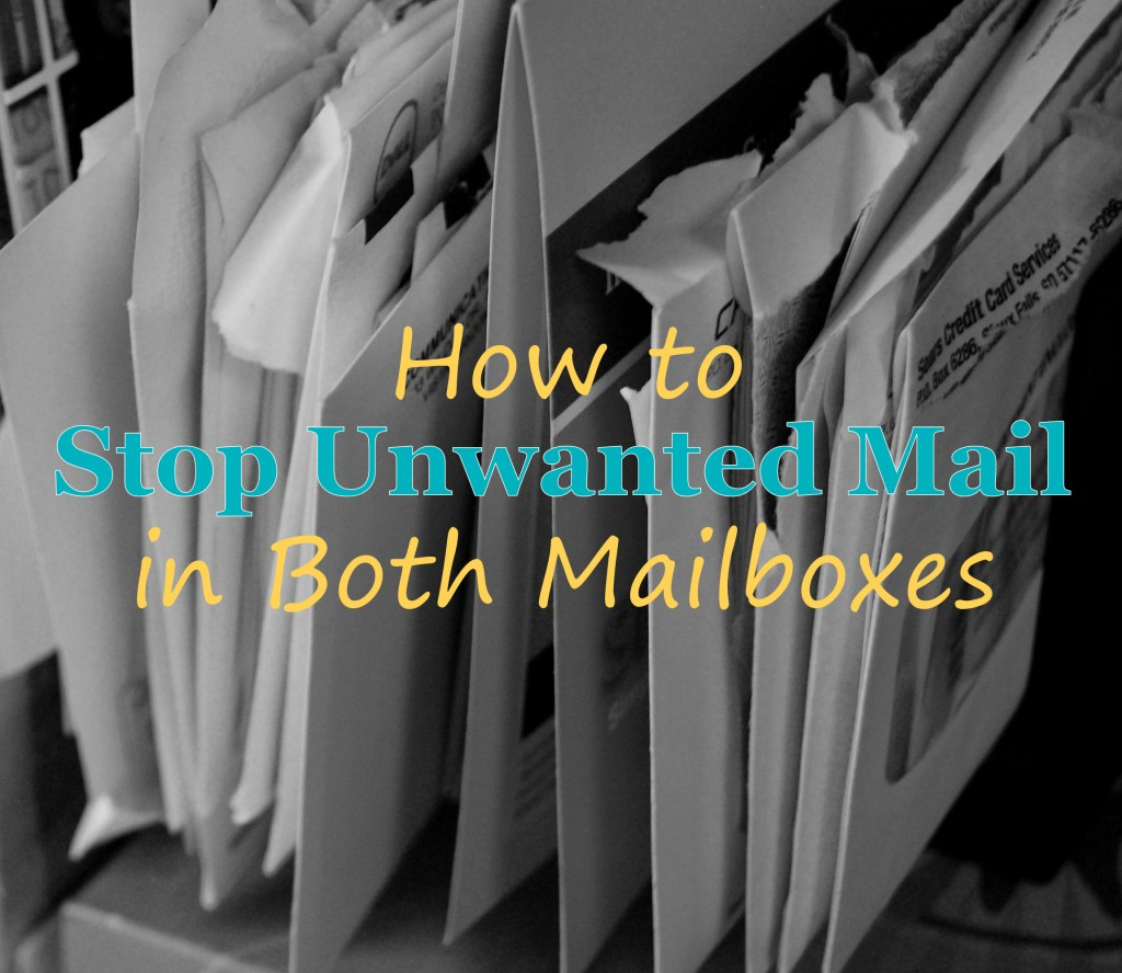 stop unwanted mail