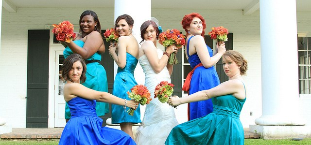 How to Feel Less Stressed When Bridesmaids Dress Shopping