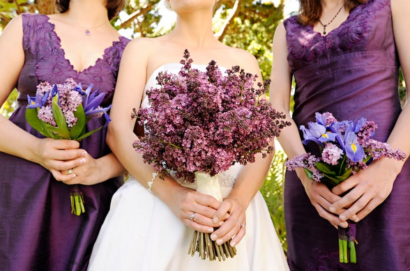 Purple Flowers For Weddings On A Budget