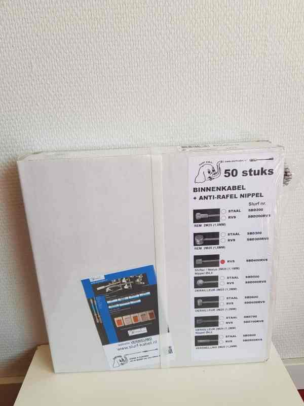 Doos versnellingskabels 50 x binnenkabel Shimano