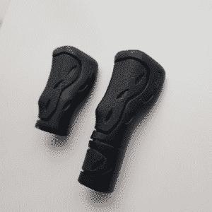 ergonomische handvatten kort lang zwart