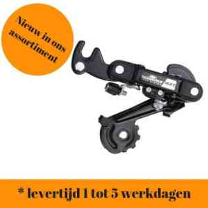 Sunrace derailleur 6/7 speed (met bracket)