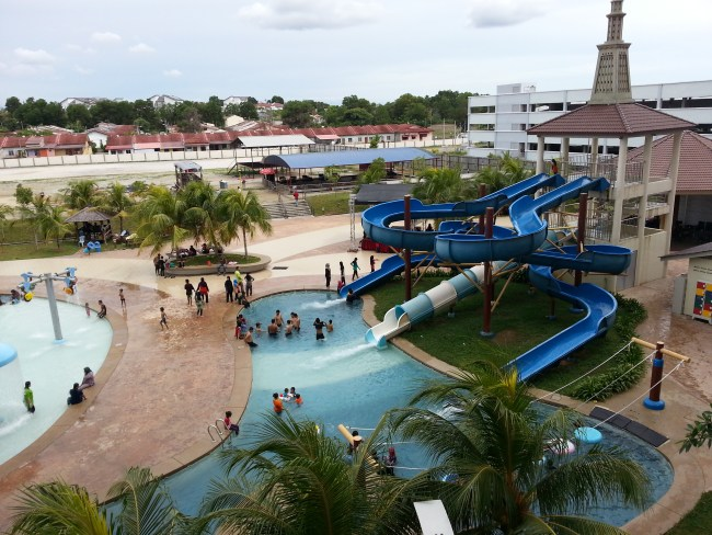 THEME PARK AT THE RESORT