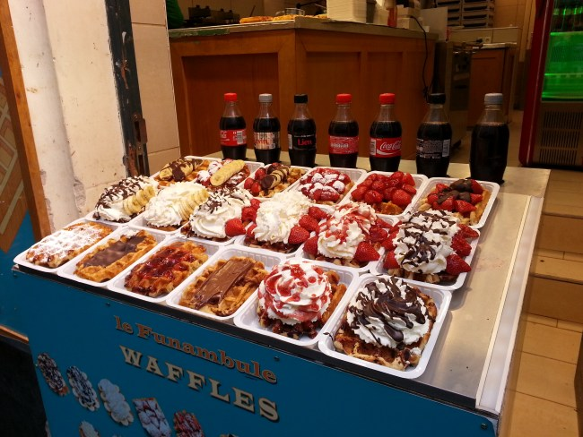 SEVERAL VARIETIES OF WAFFLES 1