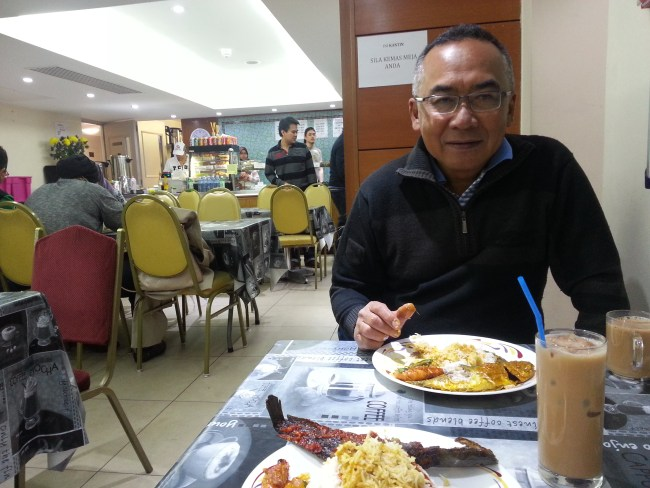 NIK WITH IKAN KEMBONG CURRY