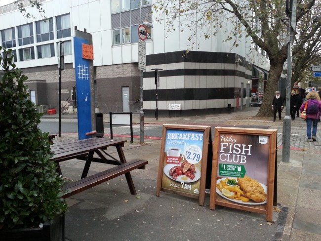 THE FISH & CHIP POSTER