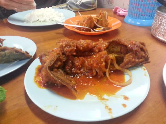 SAMBAL FRIED CATFISH
