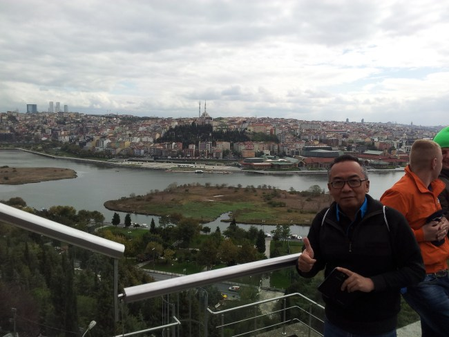 VIEW OF THE NEW CITY FROM PIERRE LOTI HILL