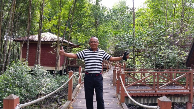 NIK AT THE MATANG MANGROVE ECO-EDUCATION CENTRE