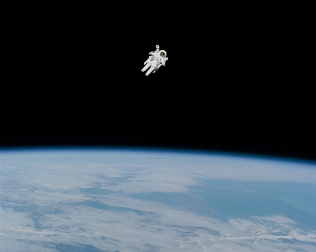 Floating through space or my head? Either way, the cost of mindlessness is an expensive endeavor!