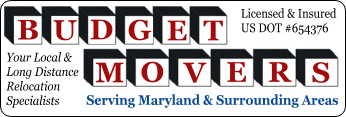 Budget Movers of Maryland Logo