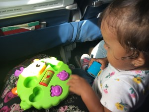 Entretainment whiletravelling with a baby