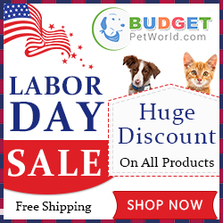 Make Labor Day Memories with Your Pet! 15% Extra Off + Free Shipping. Use Coupon: LABOR15