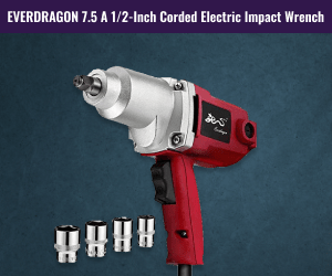 Porter-Cable PCE211 7.5-Amp 1//2-Inch Corded Forward//Reverse Impact Wrench
