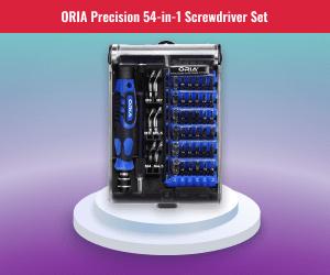 Oria Precision Screwdriver Set