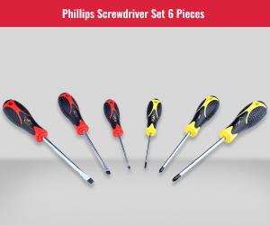 Philips 6PC Screwdriver Set