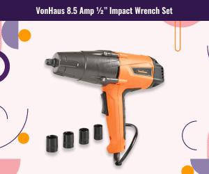 VonHaus Impact Wrench Set