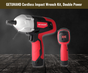 GetUHand Cordless Impact Wrench