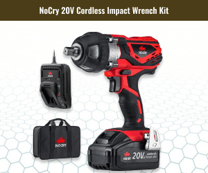 NoCry 20v Cordless Tires Changing Impact Wrench