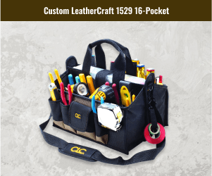 Custom Leathercraft Tools Carrier