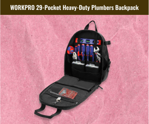 Heavy Duty Plumbers Packpack