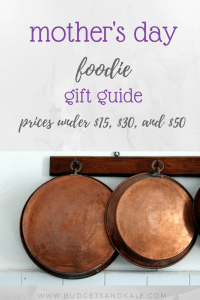 mother's day foodie gift guide
