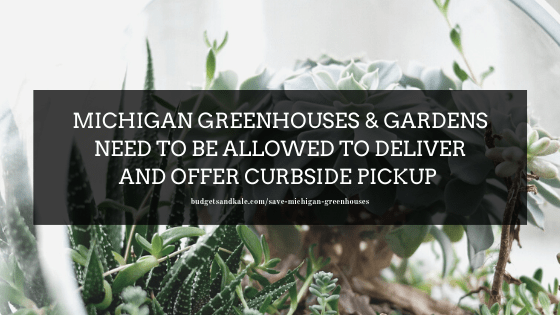 Michigan Greenhouses Need Pickup and Delivery Options to Survive Amid Crisis