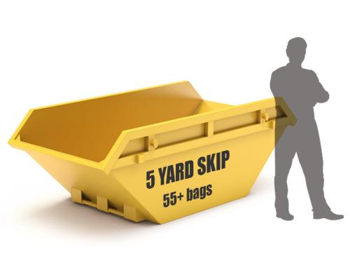 5 yard skip size