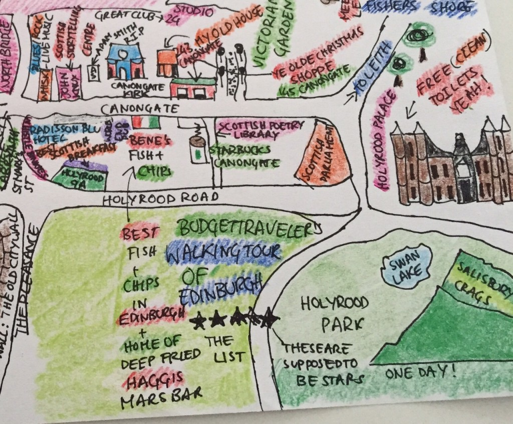 A Free Self Guided Walking Tour Of Edinburgh