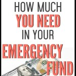 Emergency fund savings can seem like a super boring thing to do, but you definitely need them to minimize risk and stress in your life. These recommended emergency fund amounts will set you up for success. Stop risking your financial life and start preparing with an emergency fund! #emergencyfund #budget #budgettips
