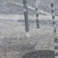 Градушка удари Варна