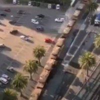 Извънредно! Хиляди танкове окупираха Сан Диего (видео)