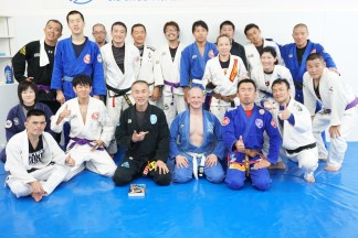 Training at Tri-Force BJJ Academy in Tokyo