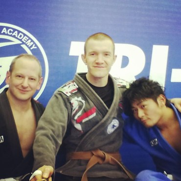 BJJ at Tri-Force Osaka