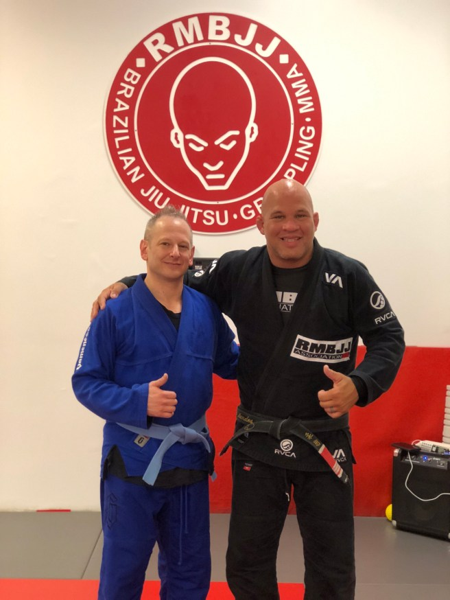 Training with Professor Rodrigo Mendes at Rodrigo Mendes BJJ Academy in Delray Beach, FL.