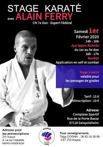 Stage Karaté avec Alain Ferry Expert fédéral @ Complexe Sportif | Geispolsheim | Grand Est | France