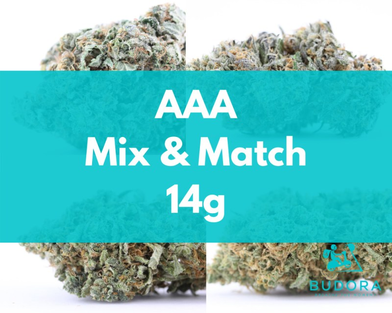 14g Mix Match AAA Same Day Delivery Vancouver Buy Weed Online