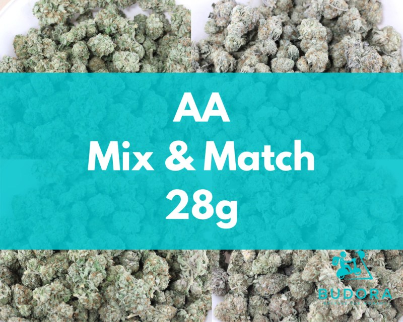28g Mix Match Aa Same Day Delivery Vancouver Buy Weed Online