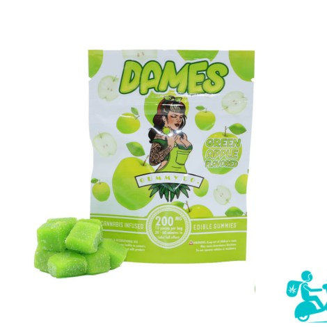 Green Apple Gummies Dames