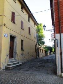 Budrio, via Zaniboni.