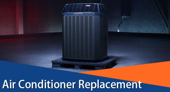 air conditioner replacement for buds heating and cooling