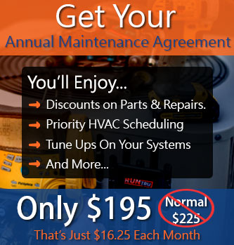 annual maintenance agreement for hvac