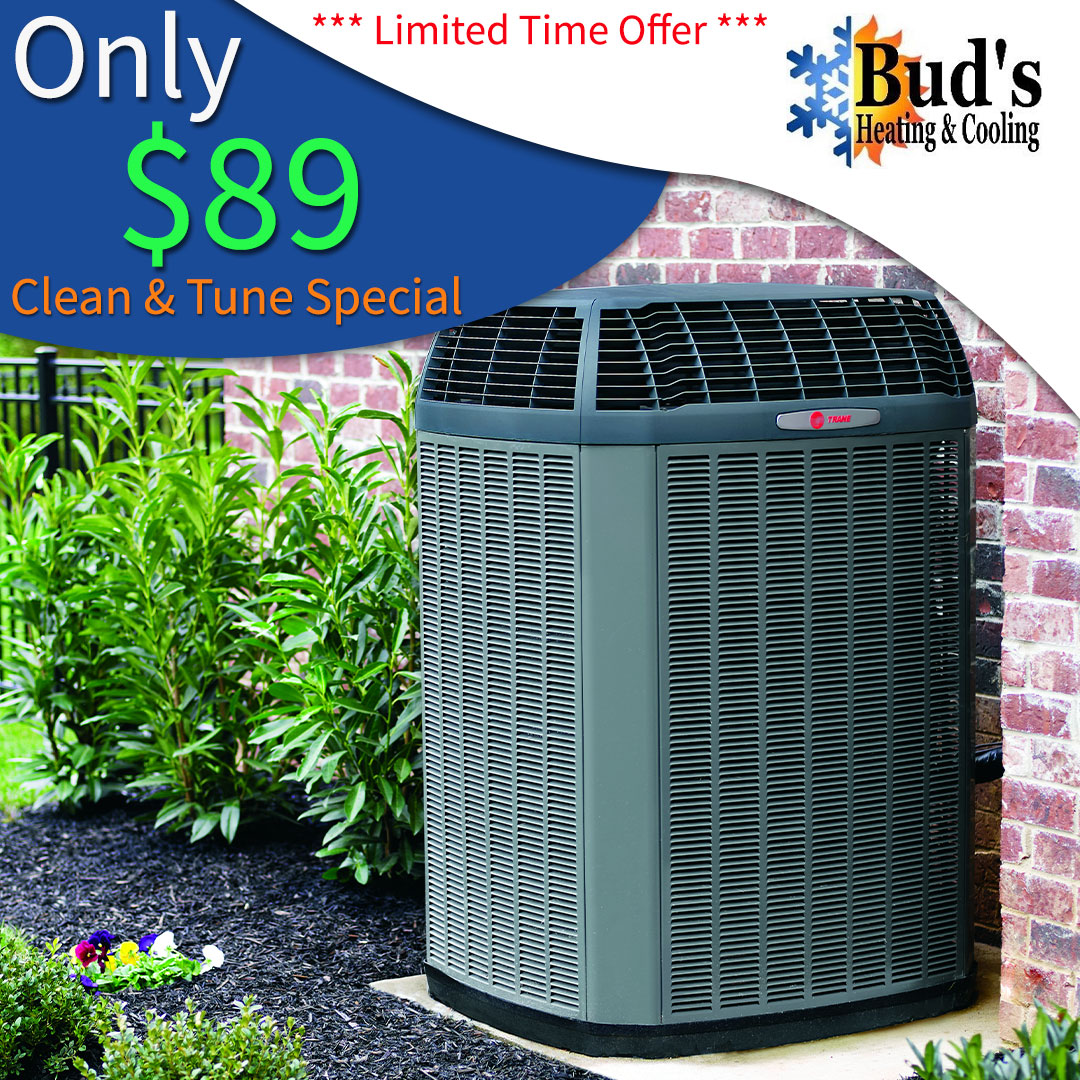 spring clean and tune hvac special