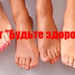 Ортопедические приспособления для стопы.