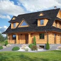 Projekty domów z bali - w pogoni za marzeniami