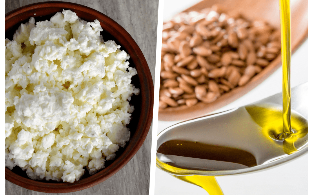 The Flaxseed Oil And Cottage Cheese Mix – How Does it Work?