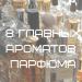 8 главных ароматов парфюма| Блог Татьяны Филатовой