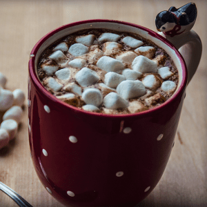"""""""Baked Edibles"""" Hot Chocolate"""