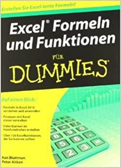 Bluttmann, Ken; Aitken, Peter - Excel - Formeln und Funktionen für Dummies