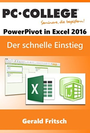 Fritsch, Gerald - Power Pivot Excel 2016 - Der schnelle Einstieg in PowerPivot (PC-COLLEGE 2017)